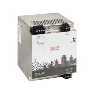 Alimentation AC/DC rail DIN avec batterie