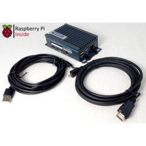 Kit raspberry Pi et boitier industriel UNO-220